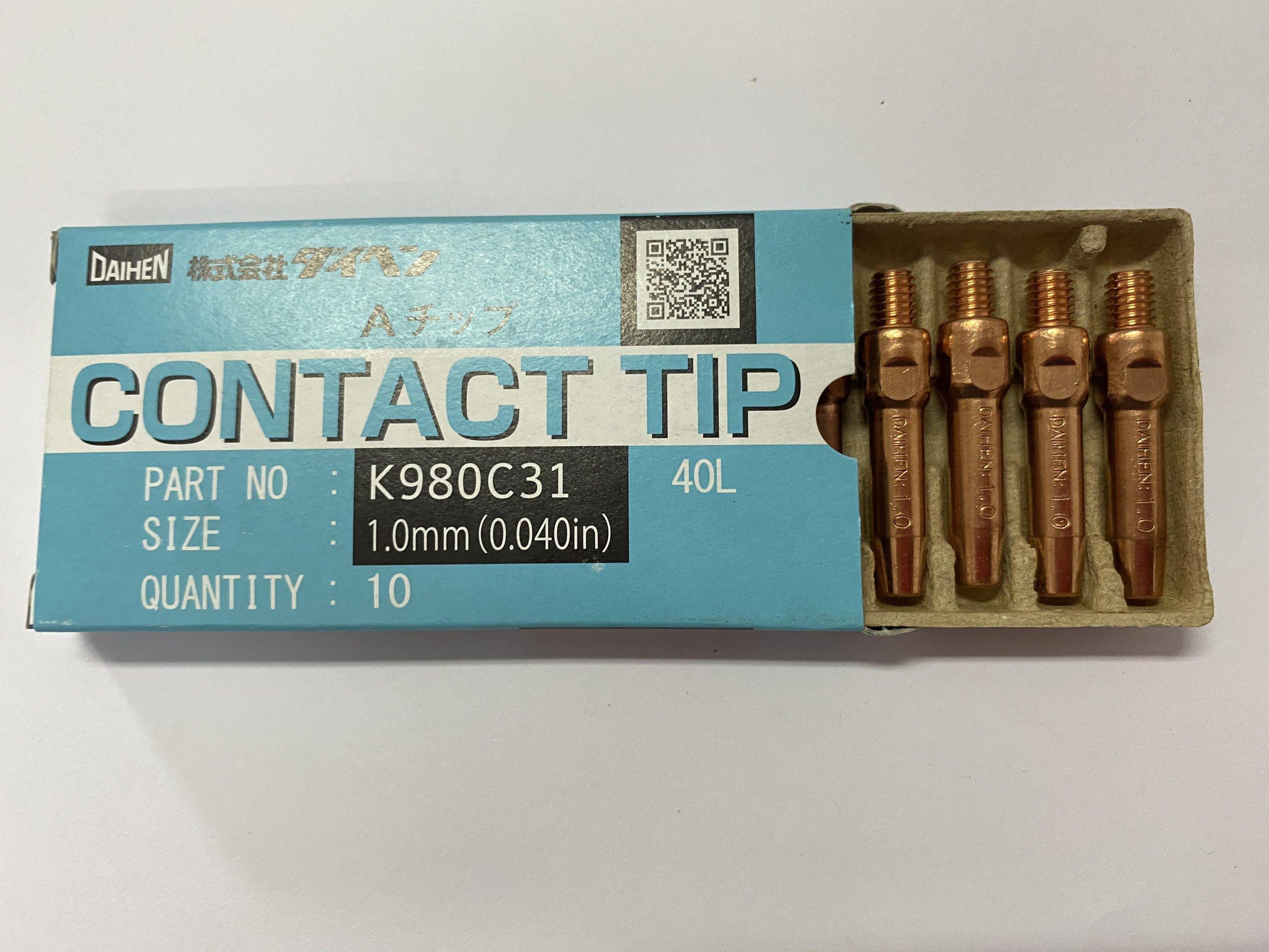 Tip hàn K980C31 (1.0x40L)